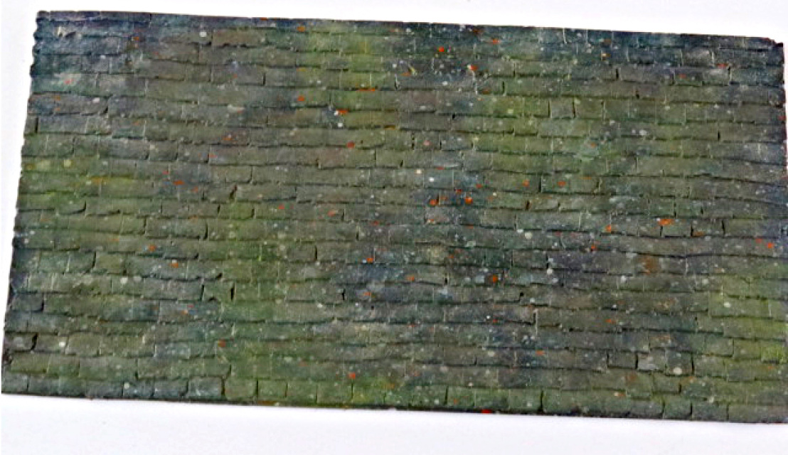 Model Railway And Building Shingle Roofing