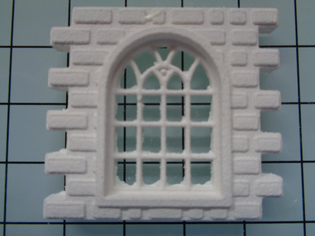 Arched Window Stone Tile