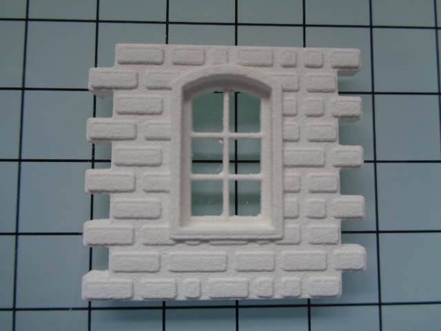 Arched 6 pain window