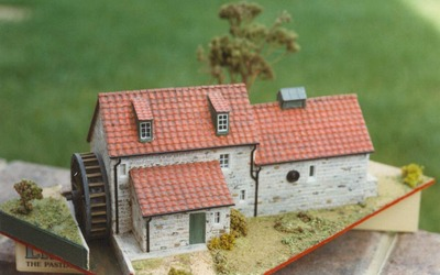 Model Railway country building in OO Gauge